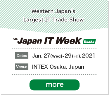 5th Japan IT Week Osaka